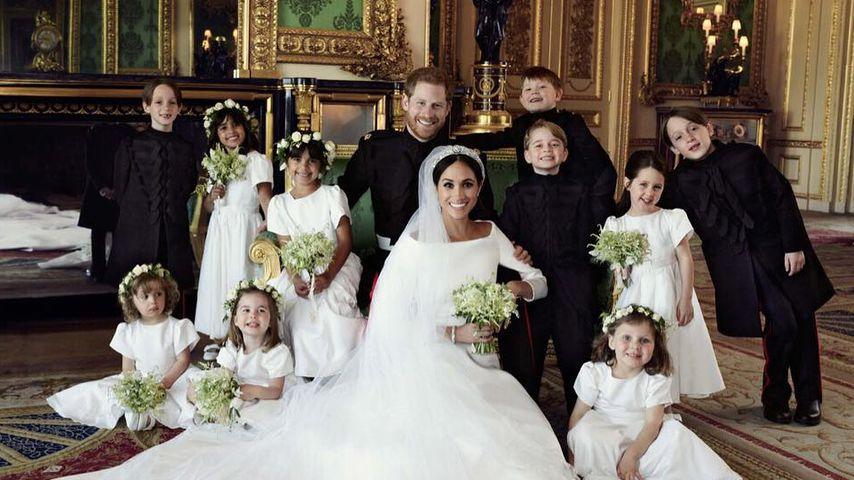 Royal-Wedding-Pic: Wegen dieses Tricks strahlten die Kids