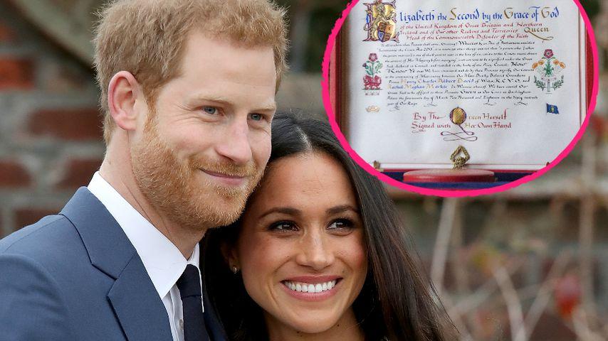 Meghan & Harry: Hochzeit offiziell von Queen genehmigt!