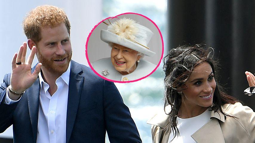 Teilt Harry und Meghans Baby den Geburtstag mit der Queen?