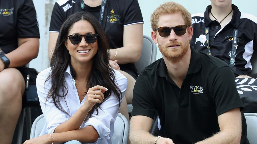 "Prinz Harry und Meghan Markle bei den ""Invictus Games"" 2017"