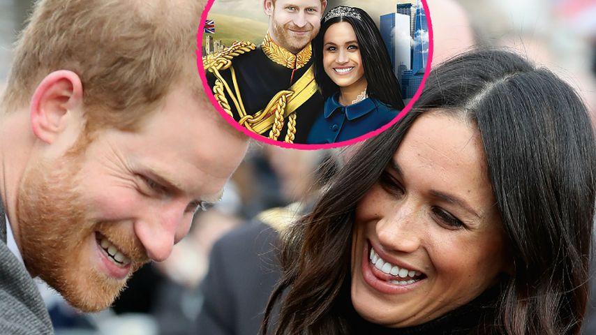 Safer-Sex mit Harry & Meghan? Royal-Wedding-Kondom gelauncht