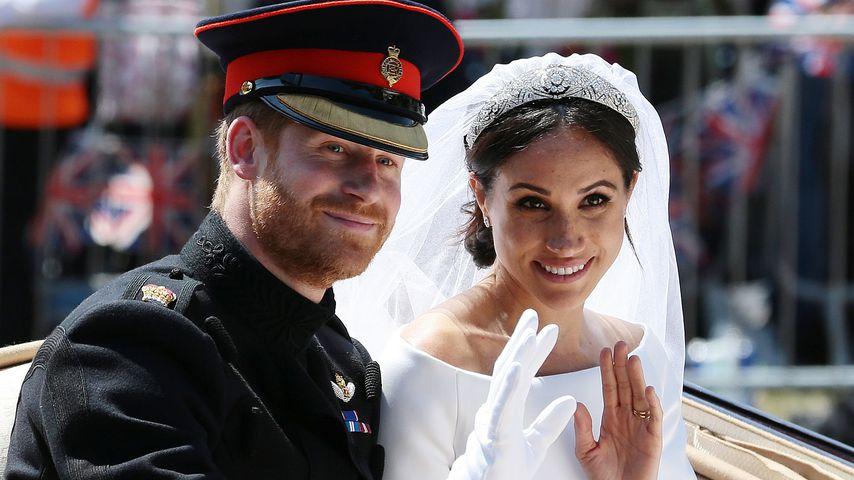 So verbrachten Harry und Meghan ihren ersten Hochzeitstag!