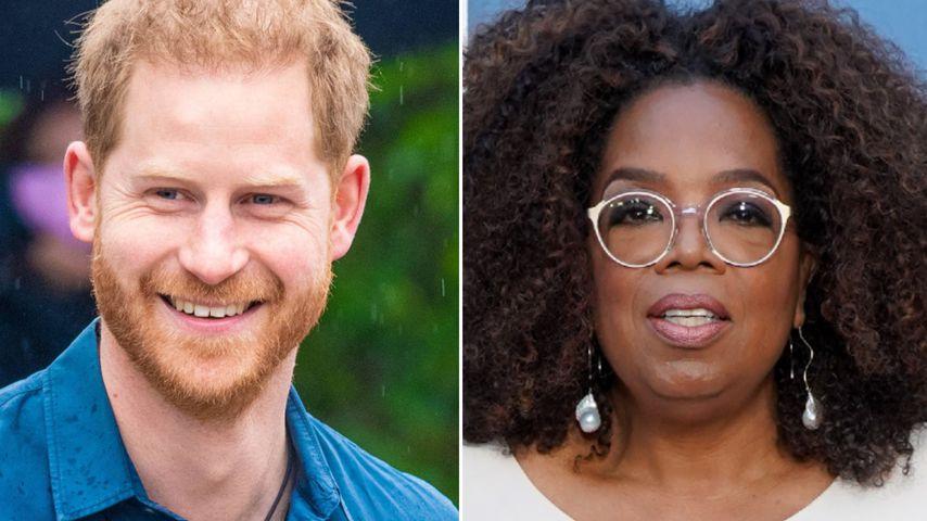 Gemeinsame Doku von Prinz Harry und Oprah startet im Mai!