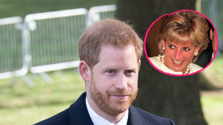 Frischgebackener Papa: Prinz Harry denkt an Mutter Diana