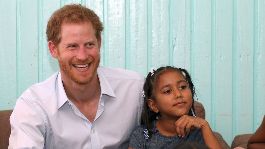Prinz Harry im Joshua House Cildren Centre in Georgetown, Guyana