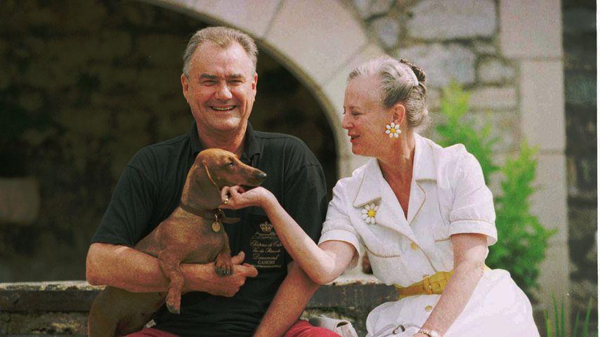 Prinz Henrik und Königin Margrethe 1996 in Frankreich