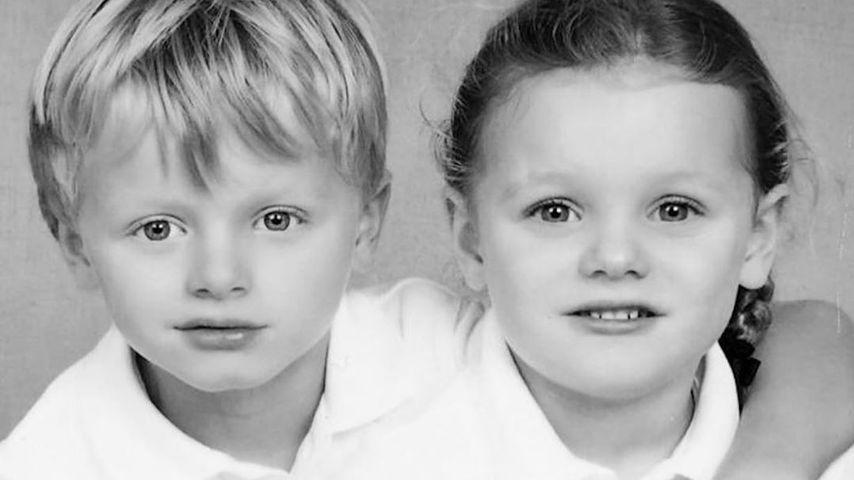 Erste Schulfotos: So groß sind die Monaco-Twins geworden