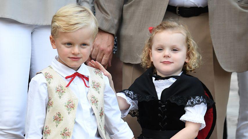 Prinz Jacques und Prinzessin Gabriella beim Pique-Nique Monegasque
