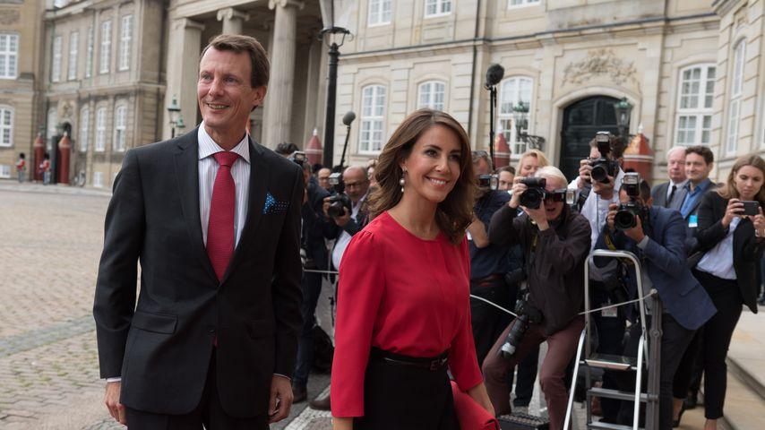 Prinz Joachim und Prinzessin Marie von Dänemark, 2018