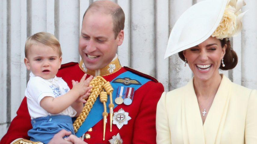Ganz die Mama: Prinz Louis recycelte Outfit von Onkel Harry