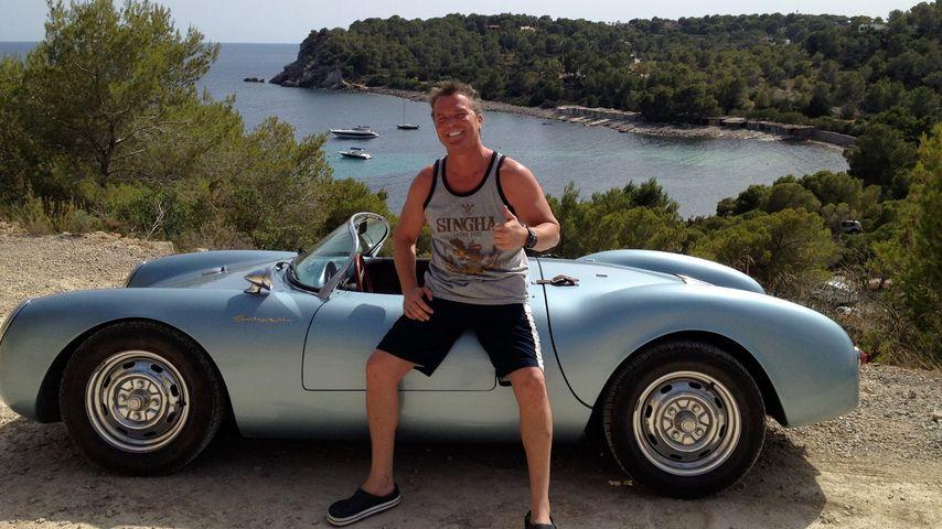 Prinz Marcus von Anhalt auf Ibiza