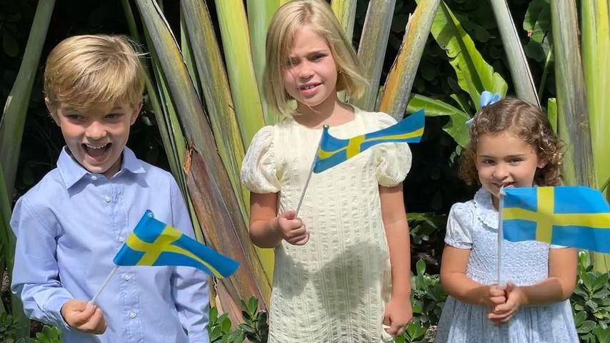 Prinz Nicolas, Prinzessin Leonore und Prinzessin Adrienne
