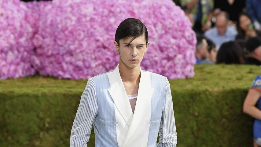 Prinz Nicolai bei der Dior-Fashionshow im Juni 2018