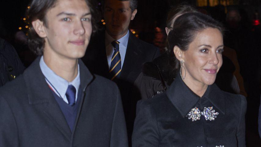 Prinz Nikolai und Prinzessin Marie im Dezember 2019