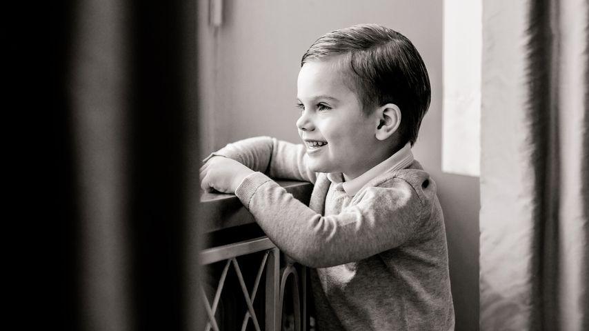 Zum vierten Geburtstag: Entzückende Bilder von Prinz Oscar!