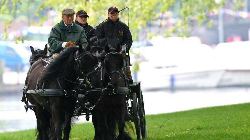Prinz Philip in Windsor, 2016