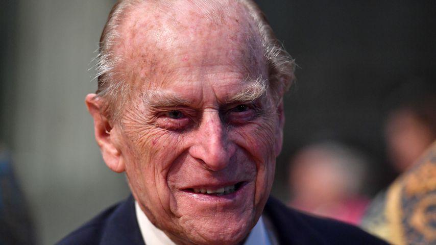 Prinz Philip im März 2017 vor Westminster Abbey