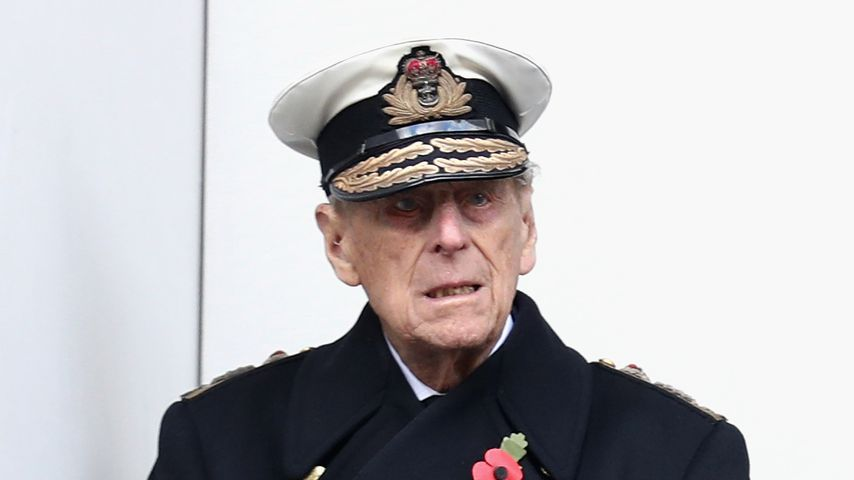 Prinz Philip beim Remembrance Sunday in London