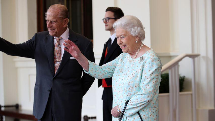 Prinz Philip und Queen Elizabeth II. in Spanien 2017
