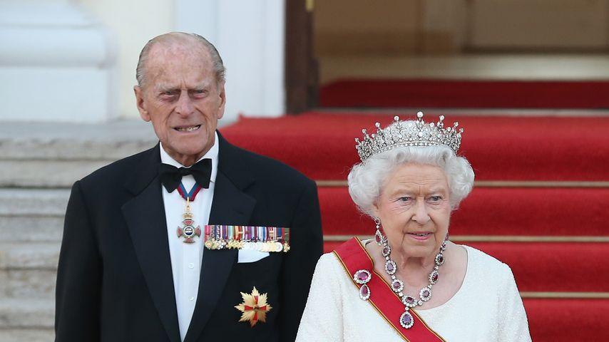 Prinz Philip und Queen Elizabeth II. im Juni 2015 in Berlin