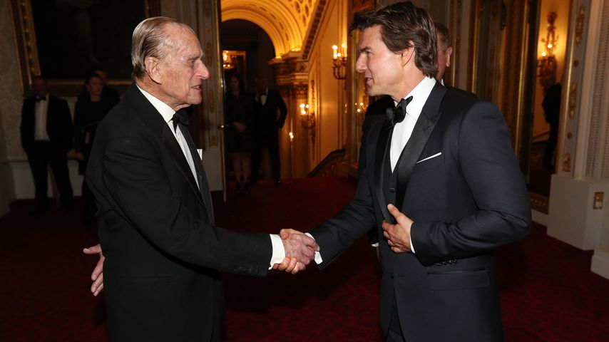 Hollywood trifft Adel: Tom Cruise besucht Buckingham Palace!