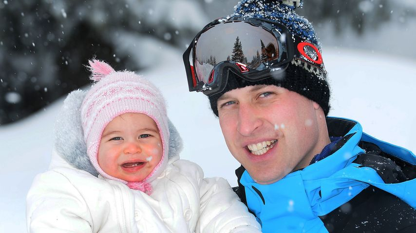 Prinzessin Charlotte und Papa William