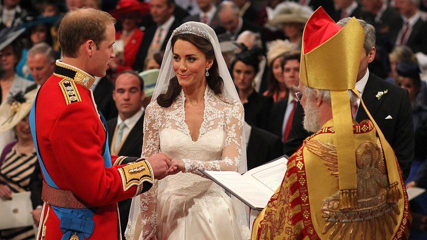Erzbischof wusste: Prinz William und Kates Ehe wird halten!