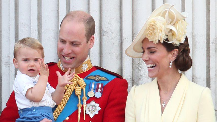 Prinz William, Herzogin Kate und ihre drei Kinder, Juni 2019
