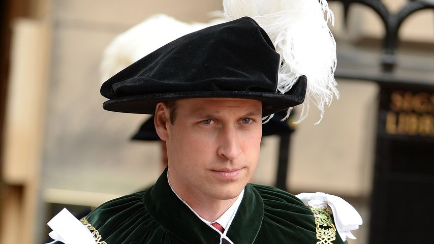 Ungewohnter Anblick: Prinz William überrascht im Ordens-Look