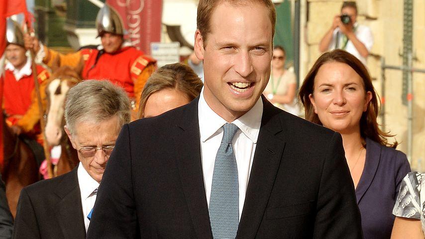 Prinz William: So geht es der schwangeren Kate!
