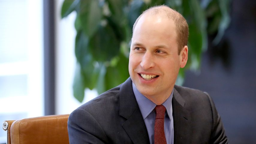 Prinz William im März 2018