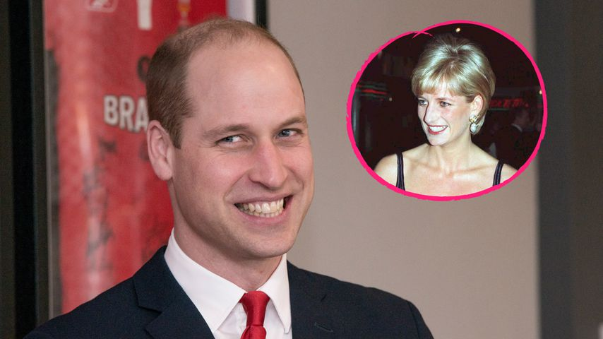 Prinz William sportelt im gleichen Gym wie Mama Diana!