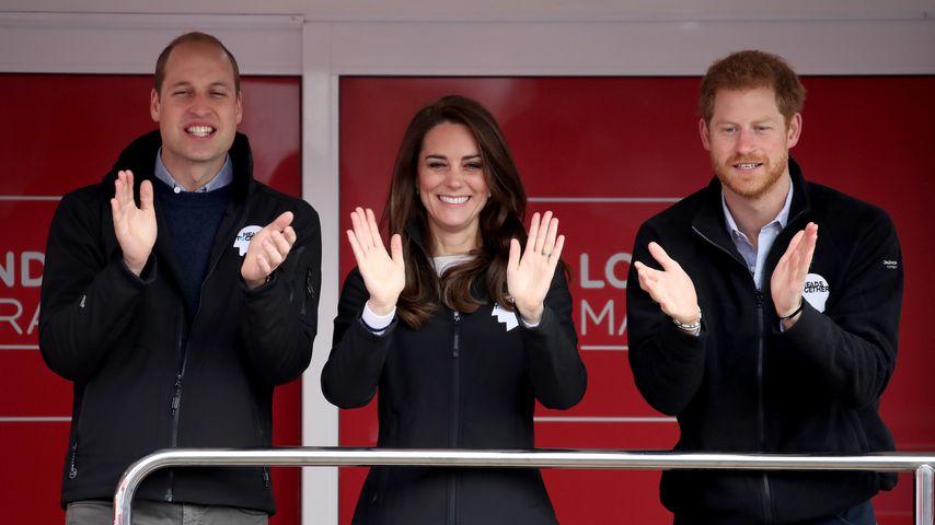 So gratulieren William und Kate zu Prinz Harrys Geburtstag