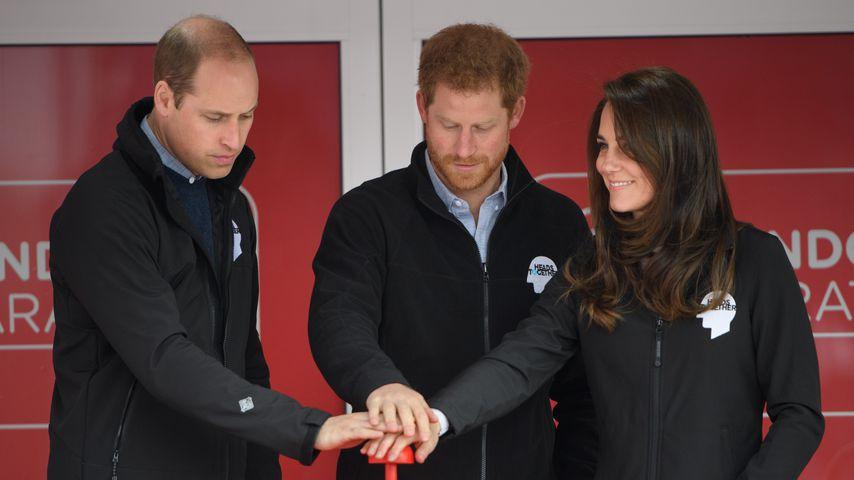Dream-Trio trotzt Terror-Gefahr: Royals eröffnen Marathon