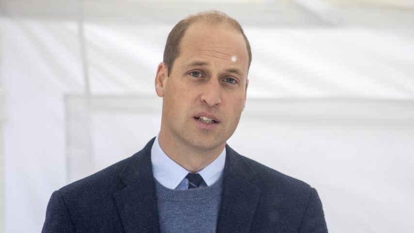 Prinz William im Oktober 2020 in Sutton