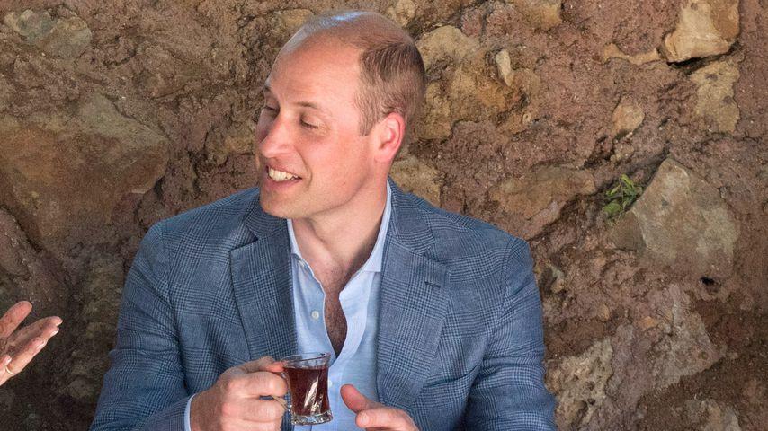 Zeitreise: William besucht Kates Lieblingsort in Jordanien