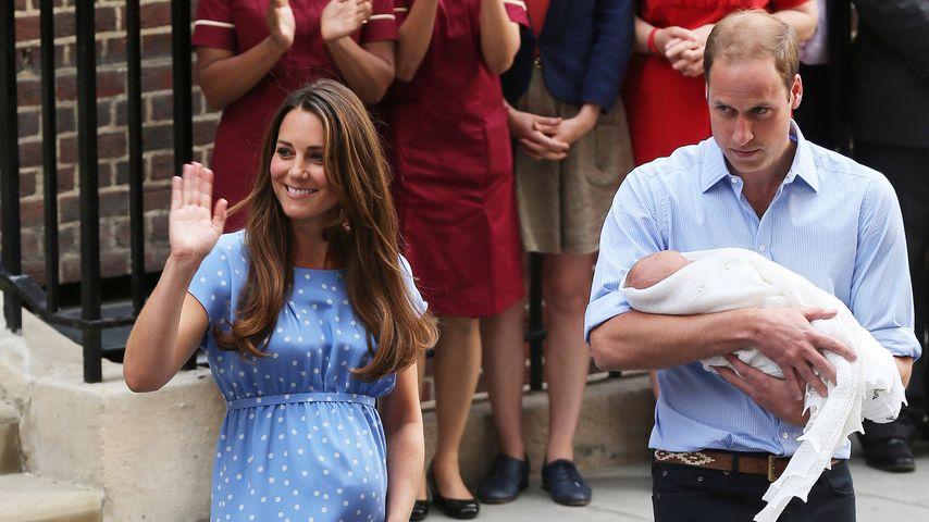 Tradition adé: Das verrät der Royal-Baby-Auftritt