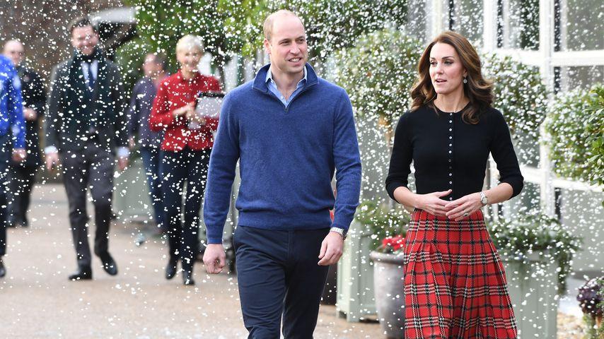 Prinz William und Herzogin Kate auf dem Weg zu einer Charityparty