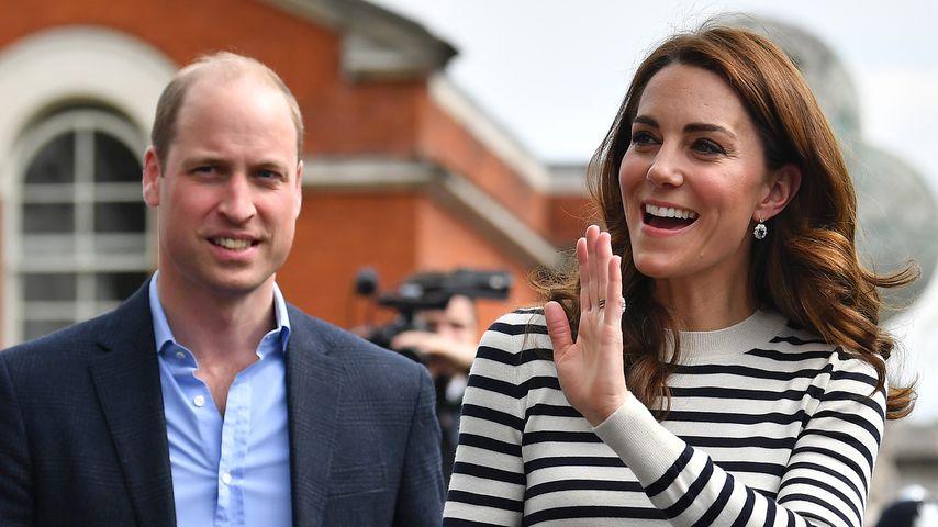 Prinz William und Herzogin Kate im Mai 2019