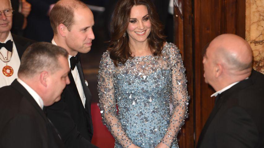 Prinz William und Herzogin Kate bei der Royal Variety Performance 2017