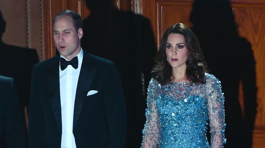 Prinz William und Herzogin Kate bei der Royal Variety Performance in London