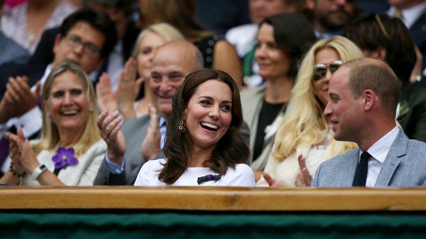 Prinz William und Herzogin Kate beim Finale in Wimbledon 2017