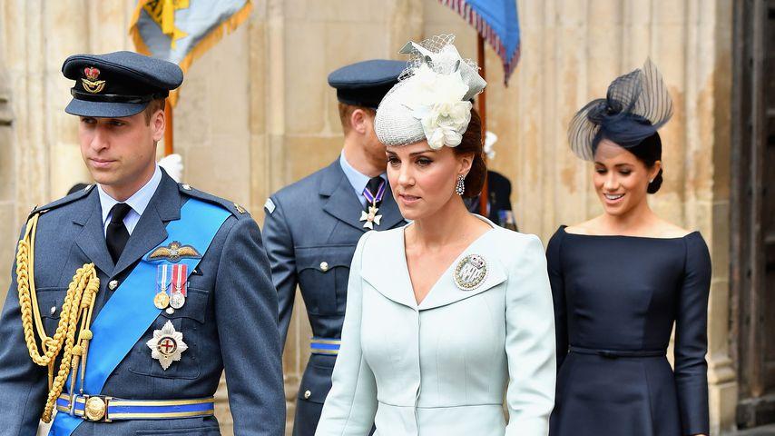 Trotz Babypause: Kates Überraschungs-Auftritt mit William