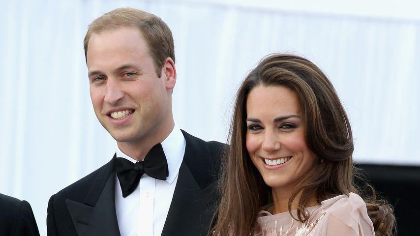 Prinz William und Herzogin Kate in London