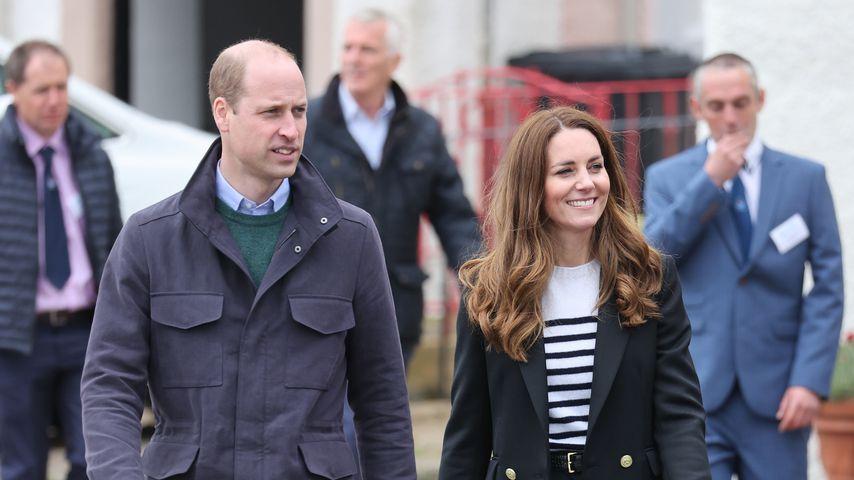 Prinz William und Herzogin Kate, 2021