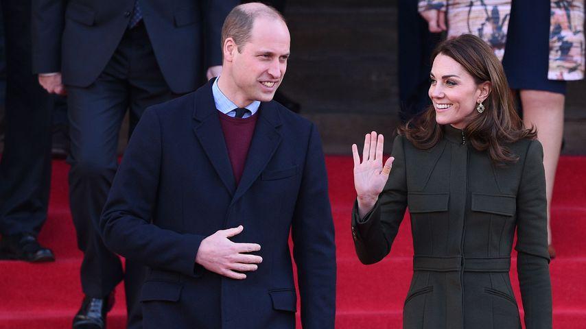 Nach Megxit: William und Kate gut gelaunt bei einem Event!