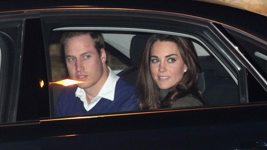 Prinz William und Herzogin Kate in London, 2011