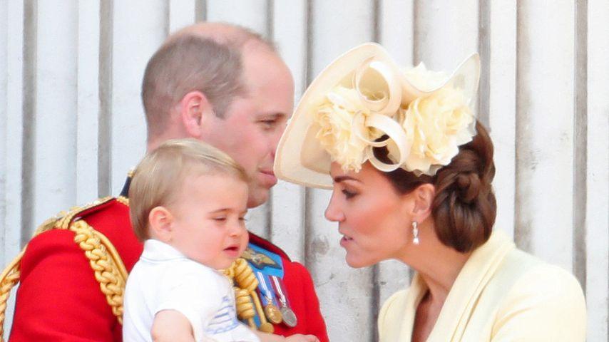 Prinz William und Herzogin Kate mit ihren Kindern George, Charlotte und Louis im Juni 2019