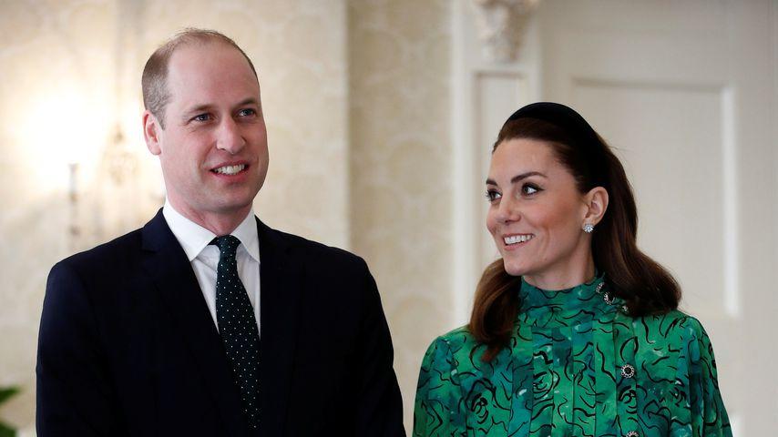 Prinz William und Herzogin Kate in Dublin im März 2020