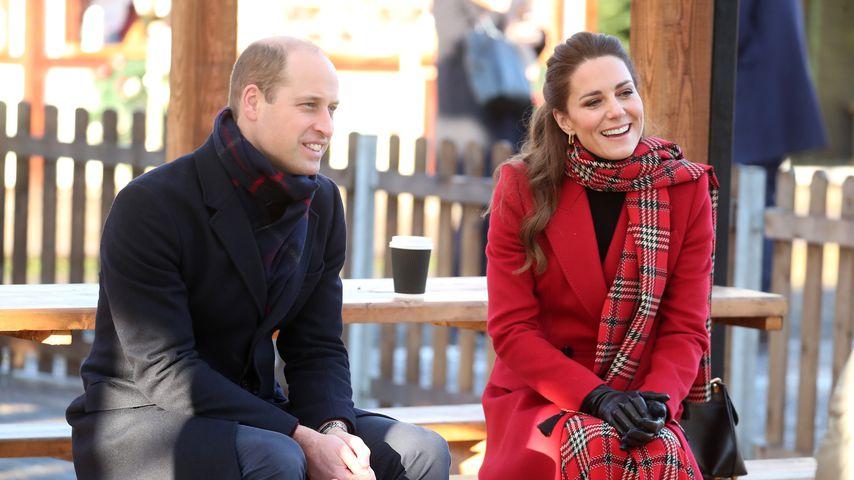 Prinz William und Herzogin Kate im Dezember 2020